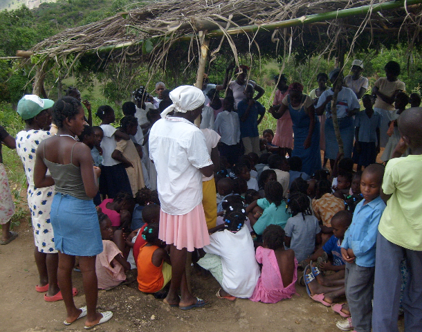 After frequent mission trips where Open Door Bois de Lance and Open Door Cap Haitien took teams of 40-50 people to evangelize Wiljeanu0027s village ... & Hinche u2013 Open Door Haiti